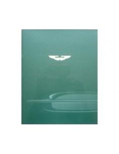 2002 ASTON MARTIN DB7 VANTAGE BROCHURE ENGLISH
