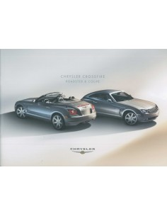 2004 CHRYSLER CROSSFIRE ROADSTER & COUPE BROCHURE DUITS