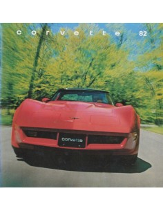 1982 CHEVROLET CORVETTE BROCHURE ENGELS