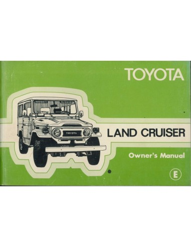 1978 toyota landcruiser owner s manual english rh autolit eu toyota land cruiser owners manual land cruiser owners manual pdf