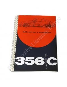 1963 PORSCHE 356 C INSTRUCTIEBOEKJE ITALIAANS
