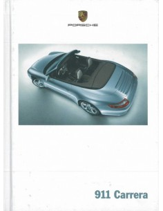 2006 PORSCHE 911 CARRERA HARDCOVER BROCHURE DUITS