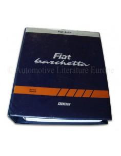 1996 - 2003 FIAT BARCHETTA WERKPLAATSHANDBOEK ENGELS