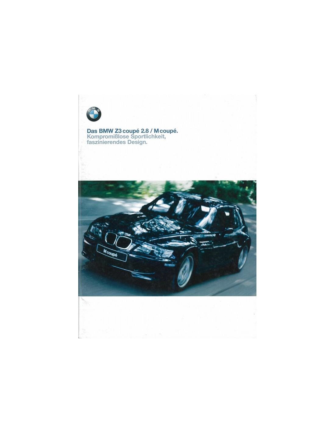 1999 Bmw Z3 M Coupe Brochure German