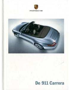 2006 PORCSHE 911 CARRERA HARDCOVER BROCHURE NEDERLANDS