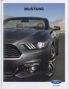 2015 FORD MUSTANG BROCHURE ENGELS USA