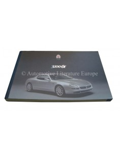 1998 MASERATI 3200 GT INSTRUCTIEBOEKJE ITALIAANS