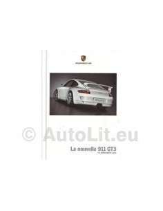 2005 PORSCHE 911 GT3 HARDCOVER BROCHURE FRENCH