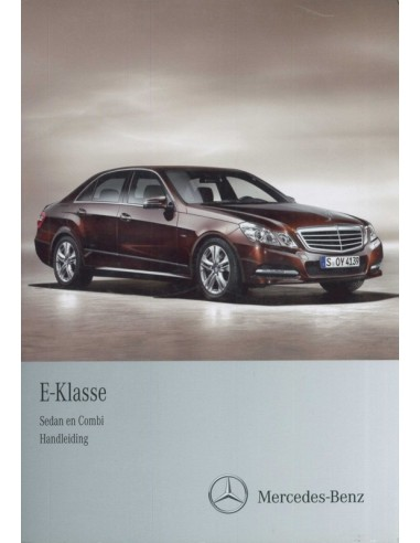 2011 mercedes benz e class owner s manual dutch rh autolit eu Mercedes-Benz E220 CDI 2001 Mercedes-Benz Sprinter