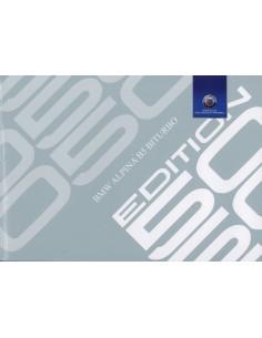 2015 BMW ALPINA B5 BITURBO EDITIE 50 BROCHURE DUITS