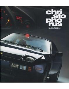 1986 PORSCHE CHRISTOPHORUS MAGAZINE 200 DUITS
