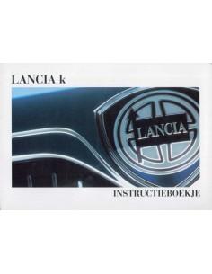 1998 LANCIA KAPPA INSTRUCTIEBOEK NEDERLANDS