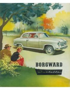 1960 BORGWARD ISABELLA BROCHURE FRANS