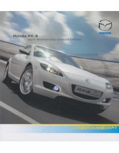 2007 MAZDA RX-8 40TH ANNIVERSARY BROCHURE ENGELS