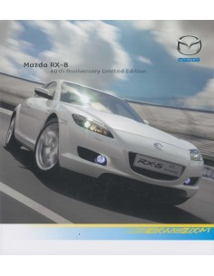 2007 MAZDA RX-8 40TH ANNIVERSARY BROCHURE ENGELS
