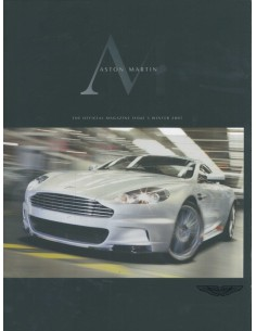 2007 ASTON MARTIN MAGAZINE WINTER ENGLISCH
