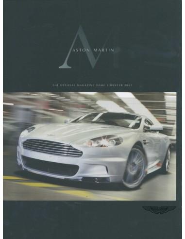2007 ASTON MARTIN MAGAZINE WINTER ENGLISH