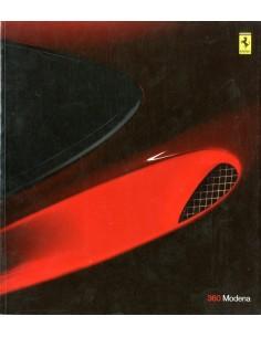 2002 FERRARI 360 MODENA BROCHURE 1504/99