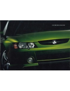2002 HOLDEN COMMODORE BROCHURE ENGELS