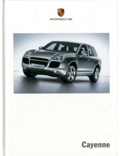 2006 PORSCHE CAYENNE HARDCOVER BROCHURE ENGLISH