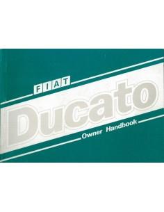 1988 FIAT DUCATO INSTRUCTIEBOEKJE ENGELS