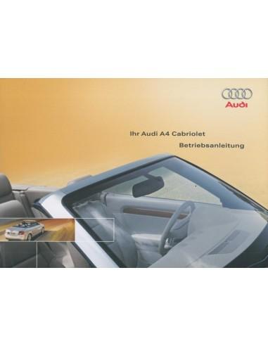 2003 audi a4 convertible owner s manual german rh autolit eu 2003 Audi A4 Convertible Problems 2003 audi tt convertible owners manual