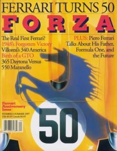 1997 FERRARI FORZA MAGAZINE 6 ENGELS