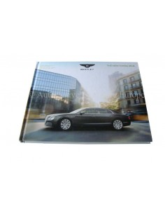 2013 BENTLEY FLYING SPUR HARDCOVER BROCHURE RUSSISCH