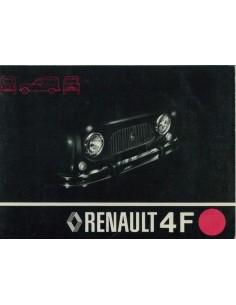 1976 FASA RENAULT 4F INSTRUCTIEBOEKJE SPAANS