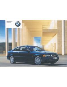 2002 BMW 3 SERIE COUPE INSTRUCTIEBOEKJE DUITS