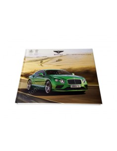2015 BENTLEY CONTINENTAL GT RANGE HARDCOVER BROCHURE ENGELS