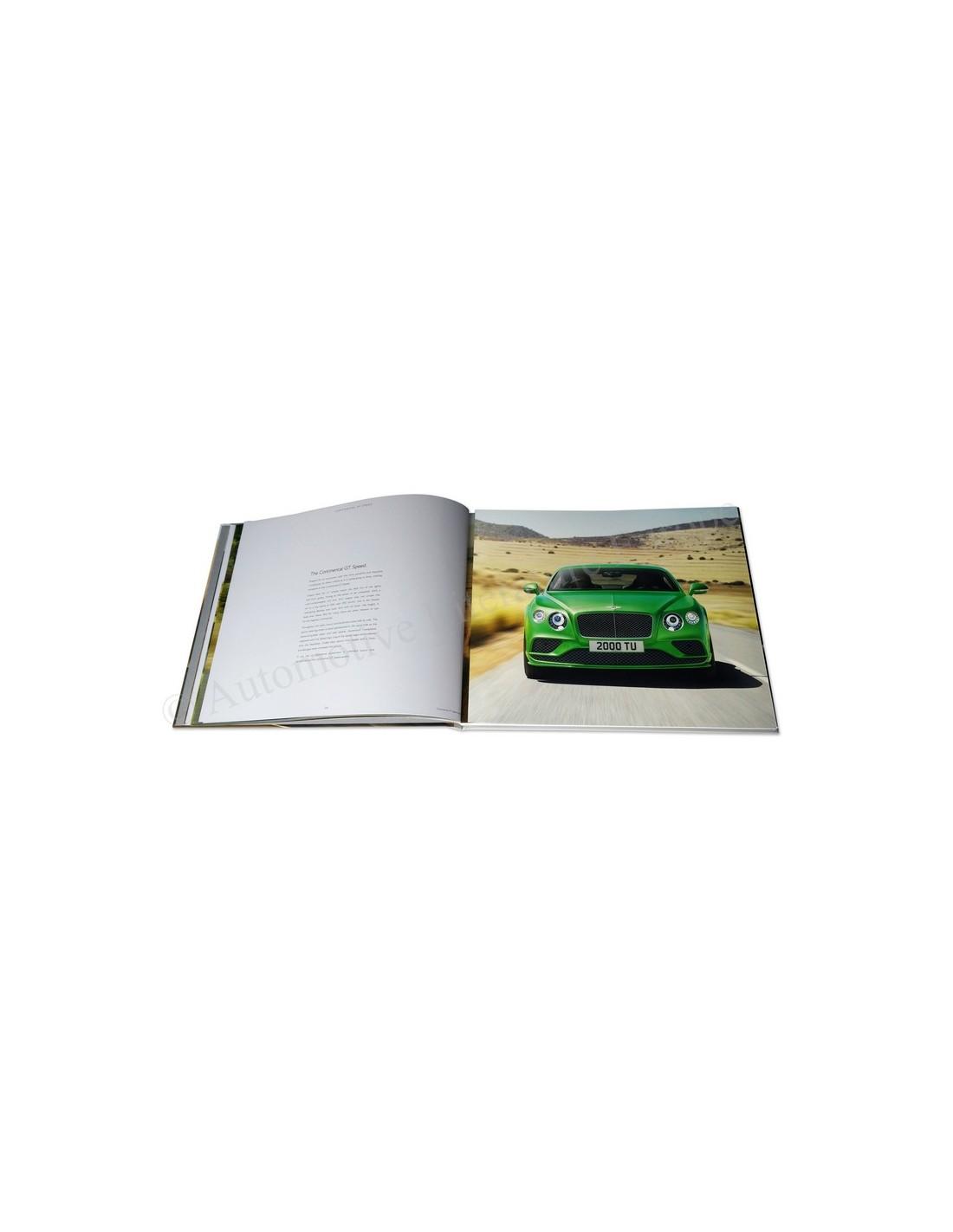 Bentley Continental Gt 2015: 2015 BENTLEY CONTINENTAL GT RANGE HARDCOVER BROCHURE ENGLISH
