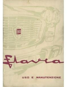 1964 LANCIA FLAVIA SEDAN INSTRUCTIEBOEKJE ITALIAANS