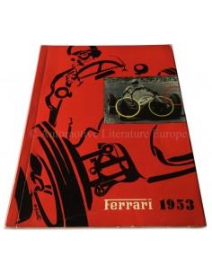 1953 FERRARI JAARBOEK ITALIAANS