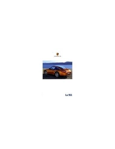 2007 PORSCHE 911 CARRERA & TARGA HARDCOVER BROCHURE ITALIAANS