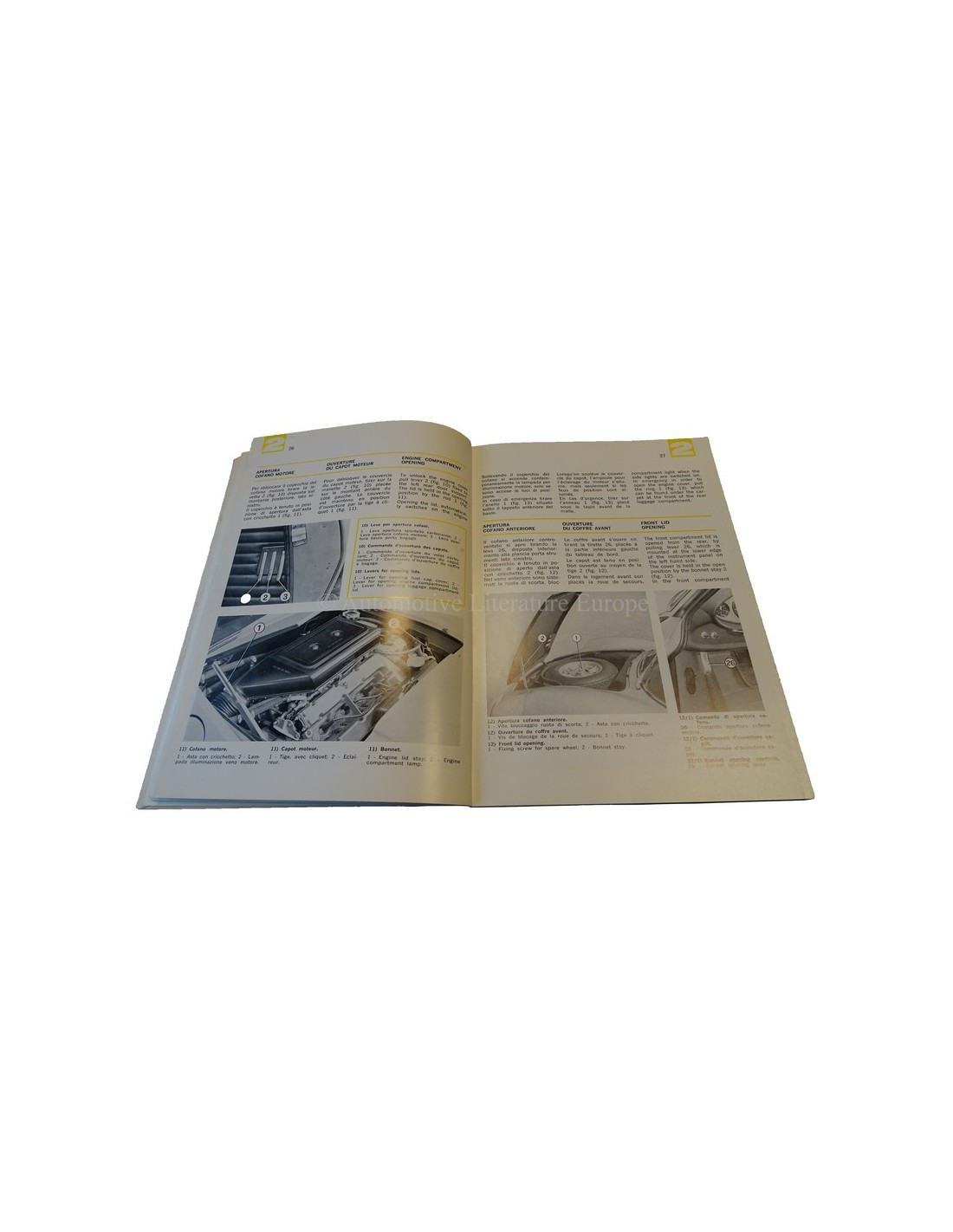 Ferrari Repair Manuals: 1972 FERRARI DINO 246 GT OWNERS MANUAL