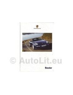 2006 PORSCHE BOXSTER HARDCOVER BROCHURE GERMAN