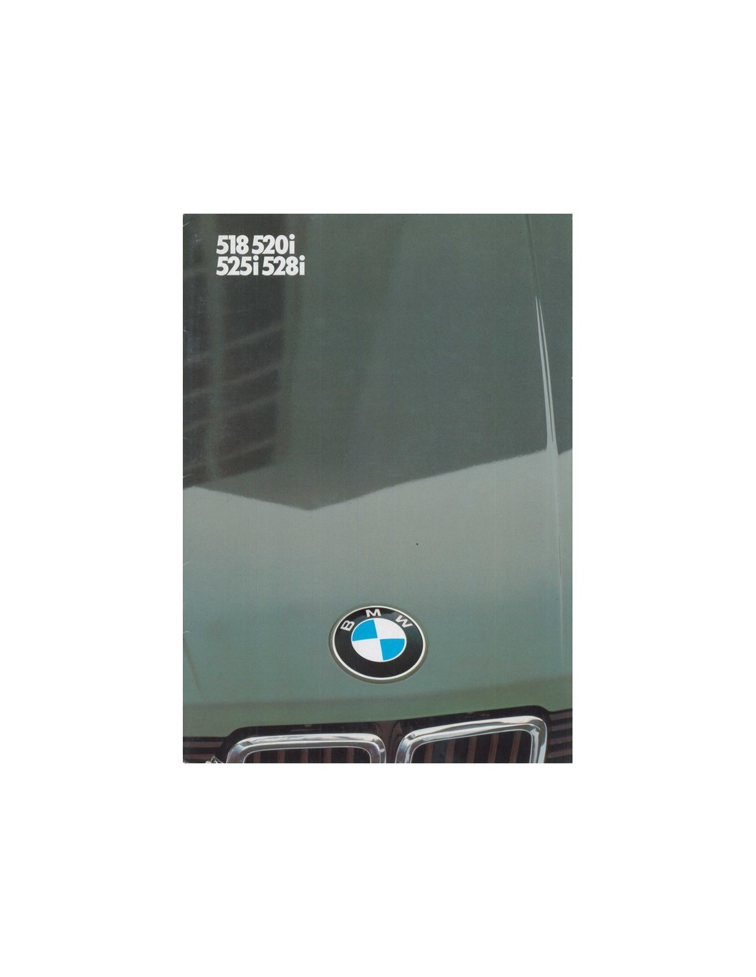 1983 Bmw 5 Series Brochure German