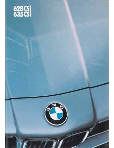 1983 BMW 6 SERIE BROCHURE DUITS
