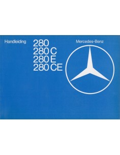1977 MERCEDES BENZ E CLASS  OWNER'S MANUAL DUTCH