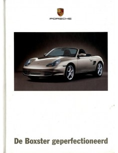 2003 PORSCHE BOXSTER HARDCOVER BROCHURE DUTCH