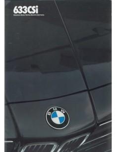1983 BMW 6 SERIES BROCHURE ENGLISCH (US)