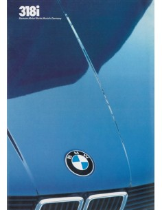1983 BMW 3 SERIE BROCHURE ENGLISH (US)