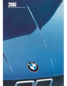 1983 BMW 3ER PROSPEKT ENGLISCH (USA)