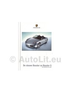 2004 PORSCHE BOXSTER HARDCOVER BROCHURE DUTCH