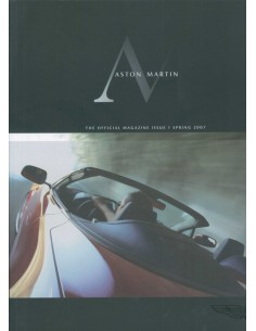 2007 ASTON MARTIN MAGAZINE SPRING ENGLISH