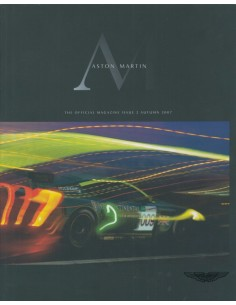 2007 ASTON MARTIN MAGAZINE AUTUMN ENGELS