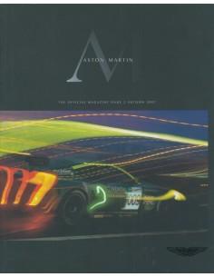 2007 ASTON MARTIN MAGAZINE AUTUMN ENGLISCH