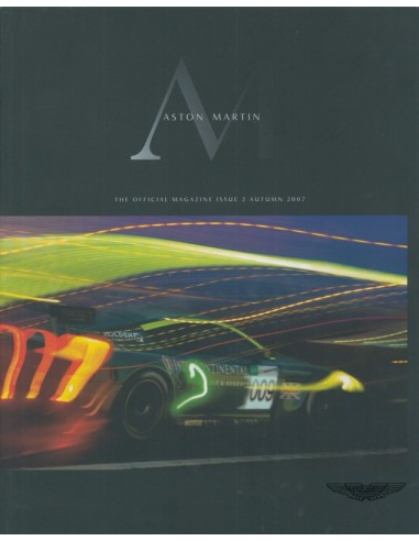 2007 ASTON MARTIN MAGAZINE AUTUMN ENGLISH