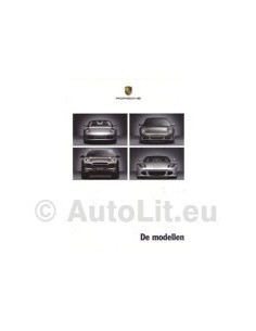 Porsche Programma Brochure 2005 Nederlands